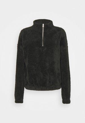 JDYTEDDY ZIP - Sweatshirt - black