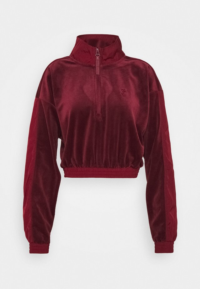SANDRA - Sweater - cabernet