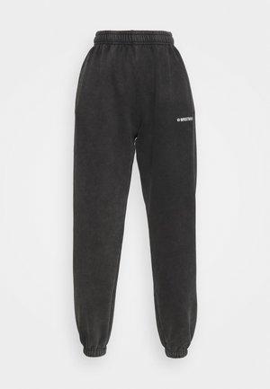 CORBY PANTS - Tracksuit bottoms - vintage black