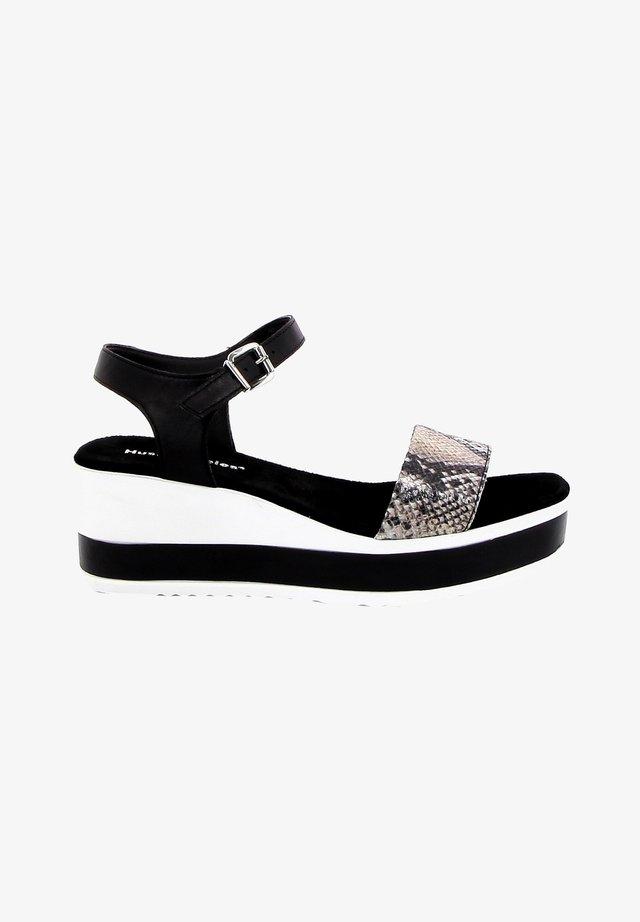 Sandales à plateforme - snake