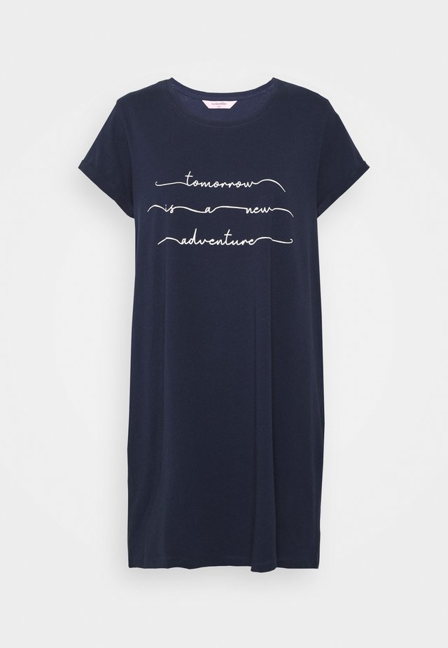NIGHTIE  - Nightie - blue