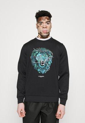 LION BARBED WIRE  - Sweatshirt - black