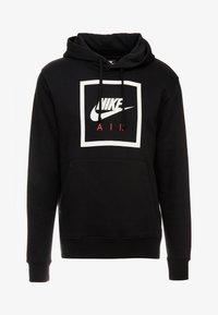 Nike Sportswear - HOODIE AIR - Jersey con capucha - black/white - 3