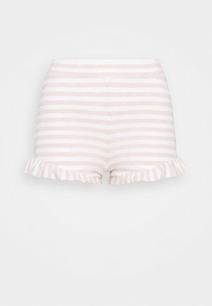 SLEEP RUFFLE BOXER - Bas de pyjama - heather country pink/sand
