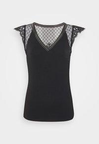 Morgan - DERNA - T-shirt print - noir - 4