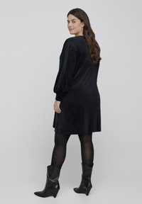 Zizzi - Jersey dress - black - 2