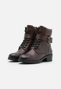 Mexx - DALEY - Lace-up ankle boots - dark brown - 2