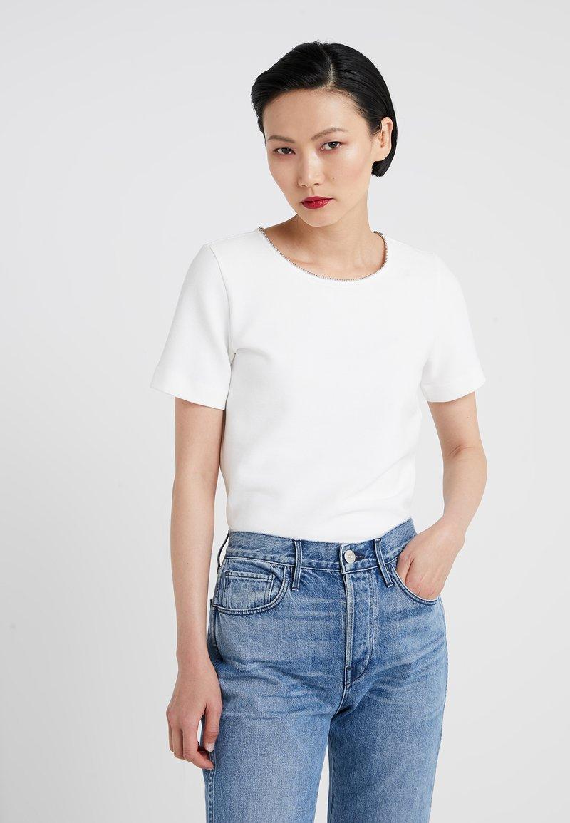HUGO - DOANA - T-shirts med print - natural