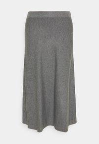 Masai - STINA - A-line skirt - medium grey melange - 0