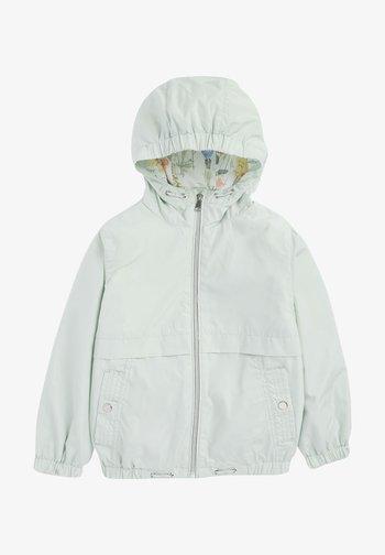 Waterproof jacket - mint