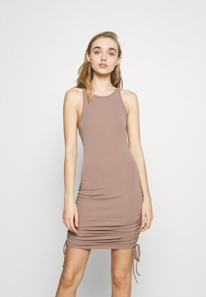MEGAN DRESS - Vestido ligero - mocha