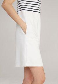 JOOP! - TRINA - Jersey dress - navy/weiß - 3