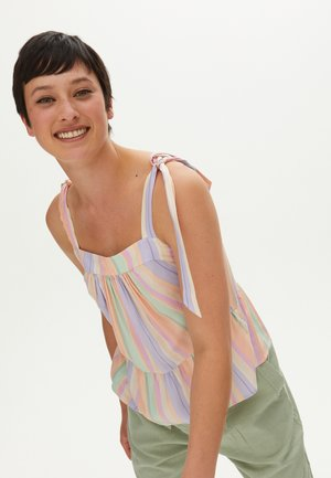 TIE STRAP CAMI  - Blouse - pink