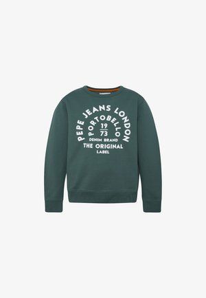 Sweatshirt - myrtle green