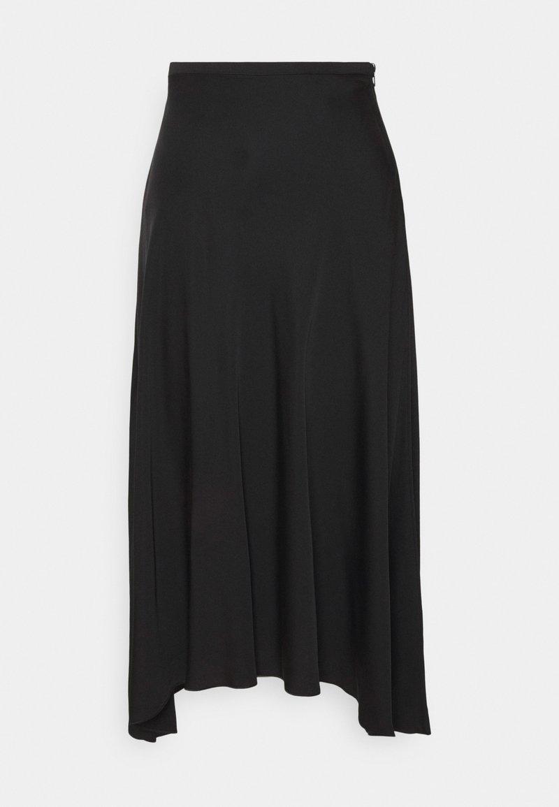 Marc O'Polo PURE - A-line skirt - black