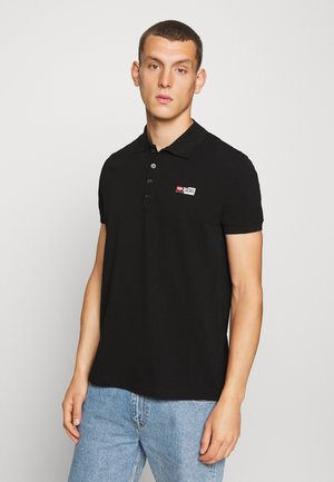 T-WEET-SPLIT POLO SHIRT - Polo shirt - black