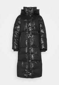 GAP - LONG PUFFER COAT - Winter coat - true black - 6