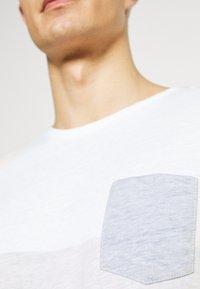 Solid - PORUS - Print T-shirt - insignia blue - 5