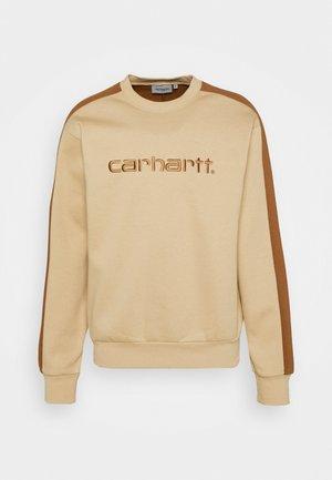 TONARE - Sweatshirt - dusty brown/hamilton brown