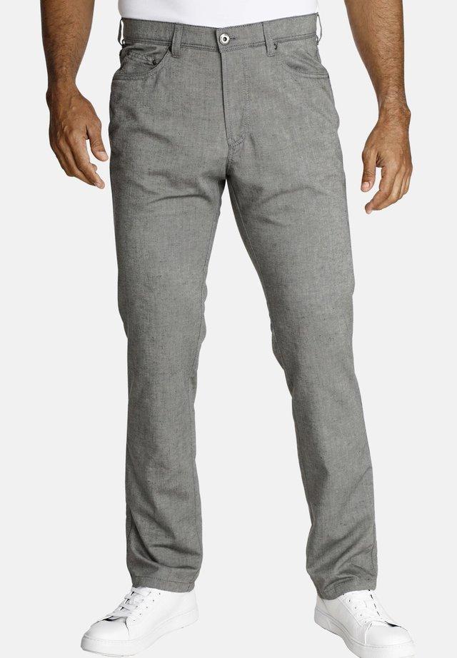 RIKVALD - Trousers - grey