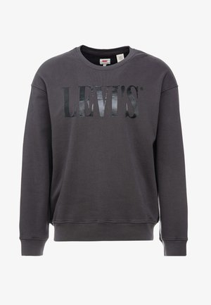 RELAXED GRAPHIC CREWNECK - Sweatshirts - serif holiday forged iron