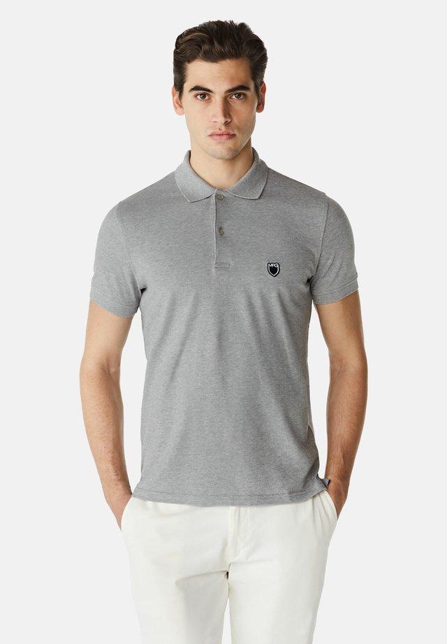 SLIM FIT - Poloshirt - medium grey