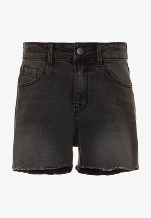 NKFRANDI  - Denim shorts - black denim