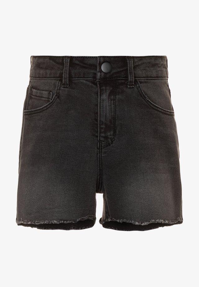 NKFRANDI  - Szorty jeansowe - black denim