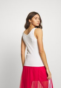 adidas Originals - ADICOLOR TREFOIL TANK - Top - white/black - 2
