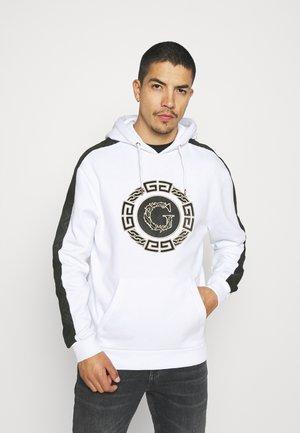 ORTIZ HOOD - Sweatshirt - optic white