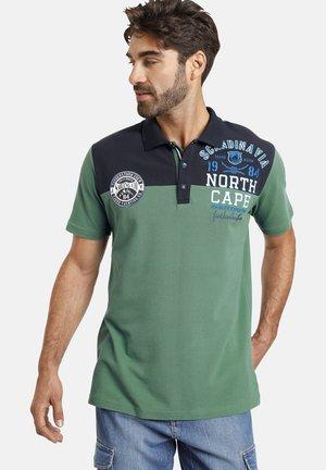 Polo shirt - grün blau