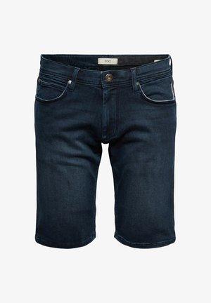 FASHION - Jeansshorts - blue dark washed