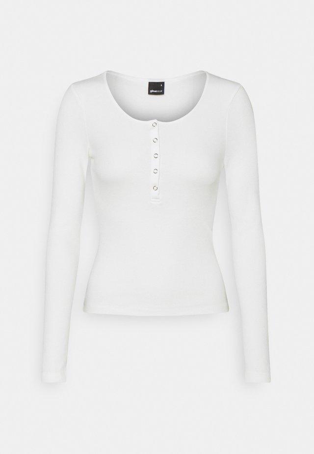 CELIE - Bluzka z długim rękawem - offwhite