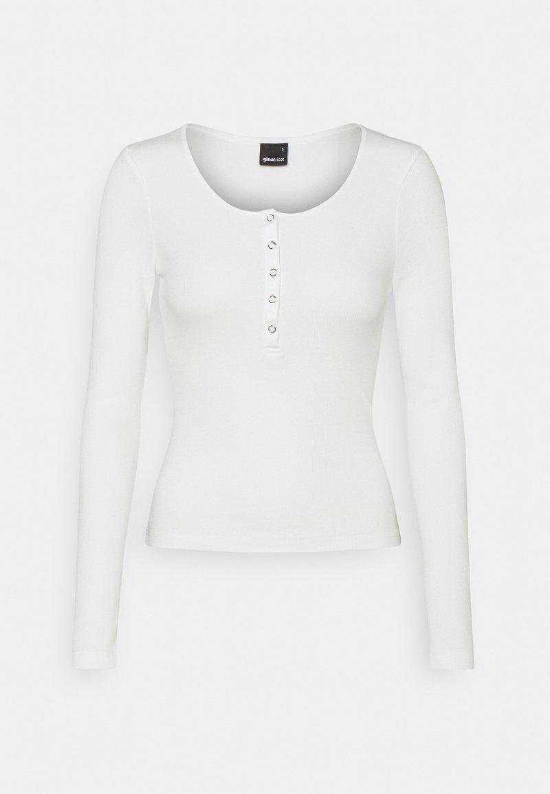 Gina Tricot - CELIE - T-shirt à manches longues - offwhite