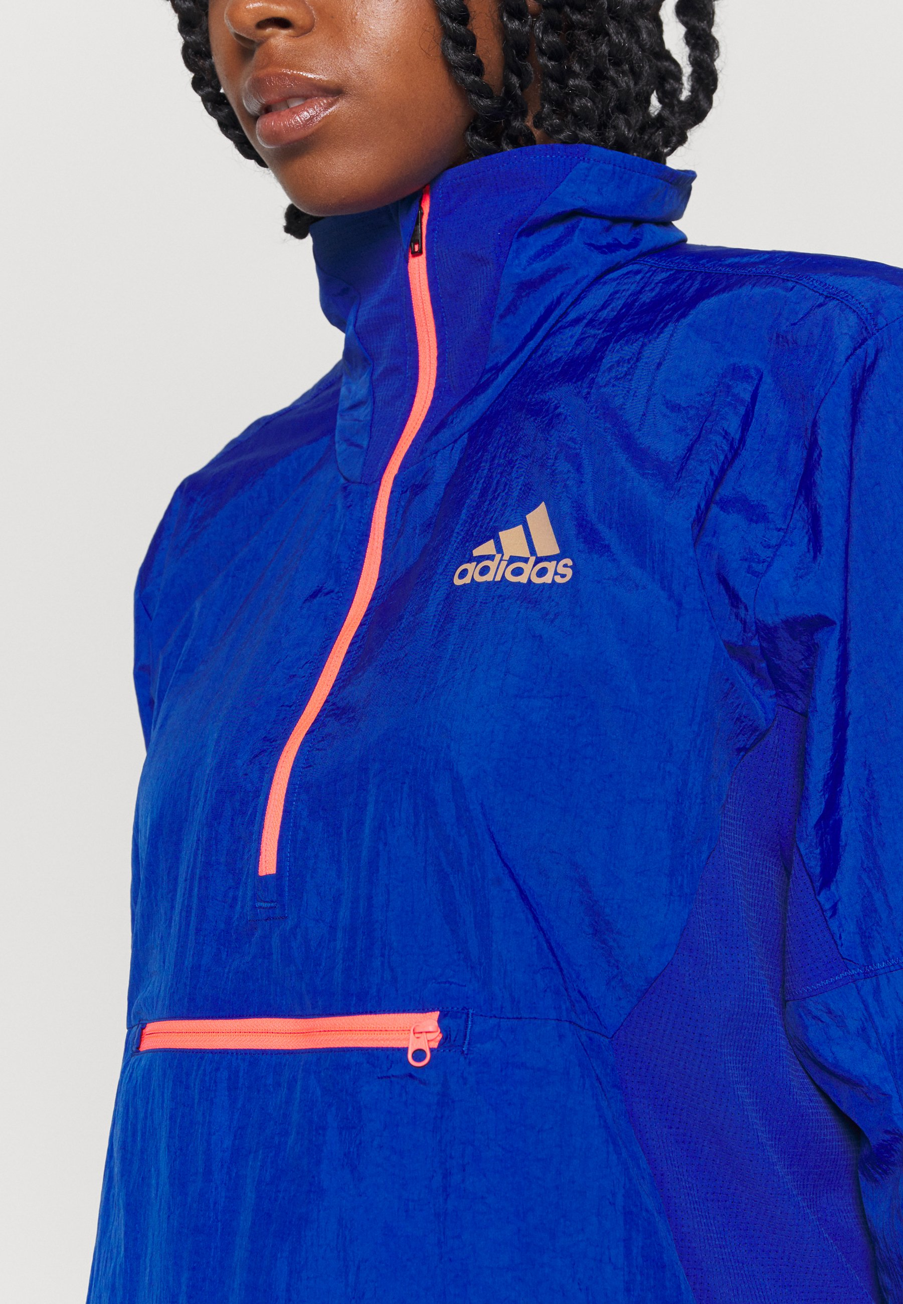 Amazing Price Women's Clothing adidas Performance ADAPT JACKET Sports jacket royal blue oRrfR5xgz