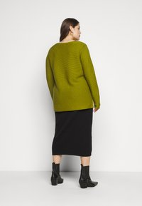 MY TRUE ME TOM TAILOR - STRUCTURED - Jumper - wood green - 2