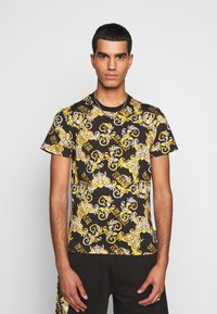 Versace Jeans Couture - PRINT NEW LOGO - Print T-shirt - nero - 0