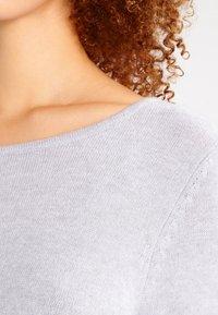 Vila - Strikket kjole - light grey melange - 3
