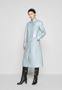 2nd Day - EDITION VERGE - Klassisk frakke - cashmere blue - 0