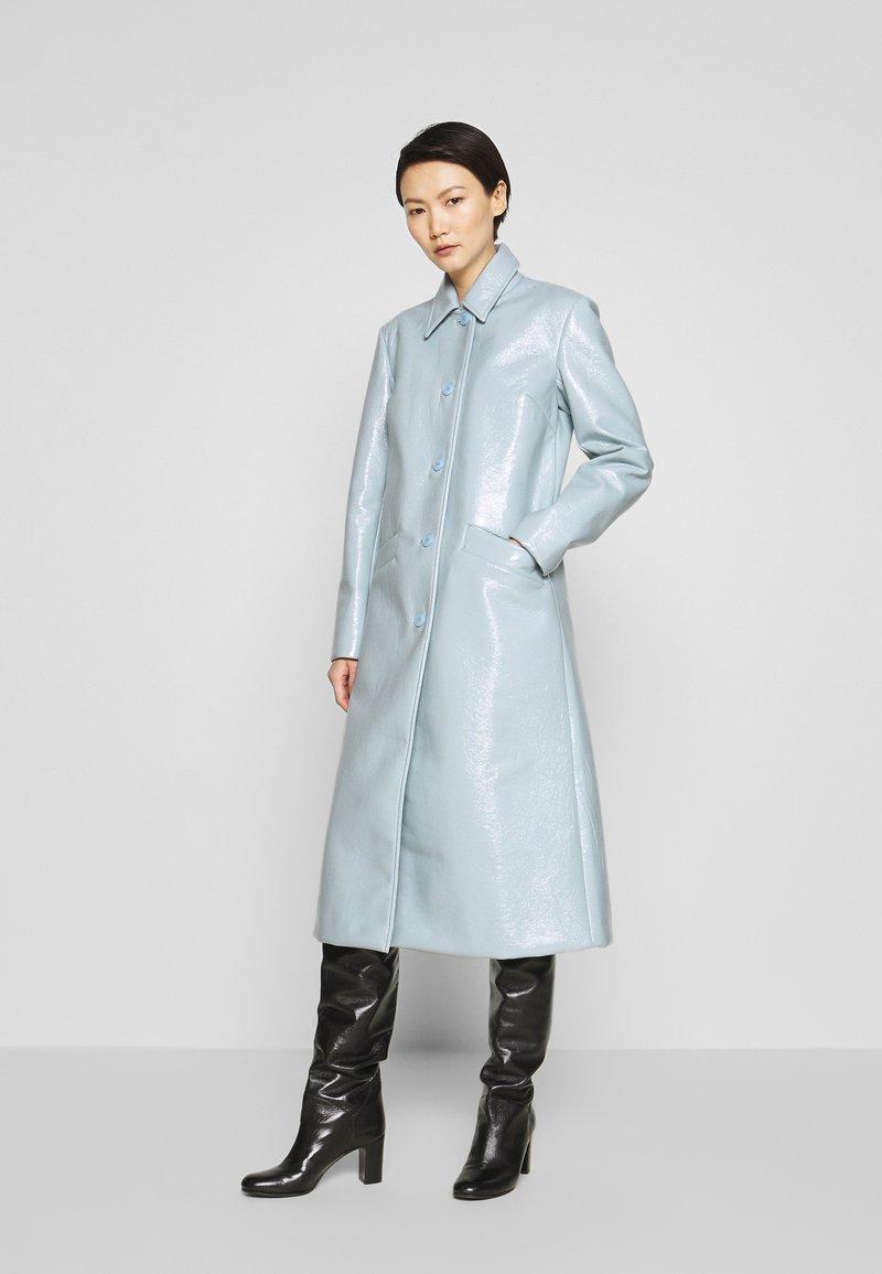 2nd Day - EDITION VERGE - Klassisk frakke - cashmere blue