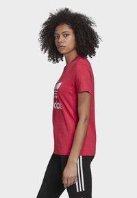 adidas Originals - TREFOIL T-SHIRT - Print T-shirt - pink - 3