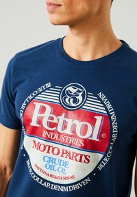 Petrol Industries - T-shirt imprimé - petrol blue - 1