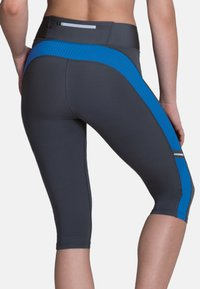 Anita - CAPRI  FITNESS - 3/4 sports trousers - atlantik  anthrazit - 1