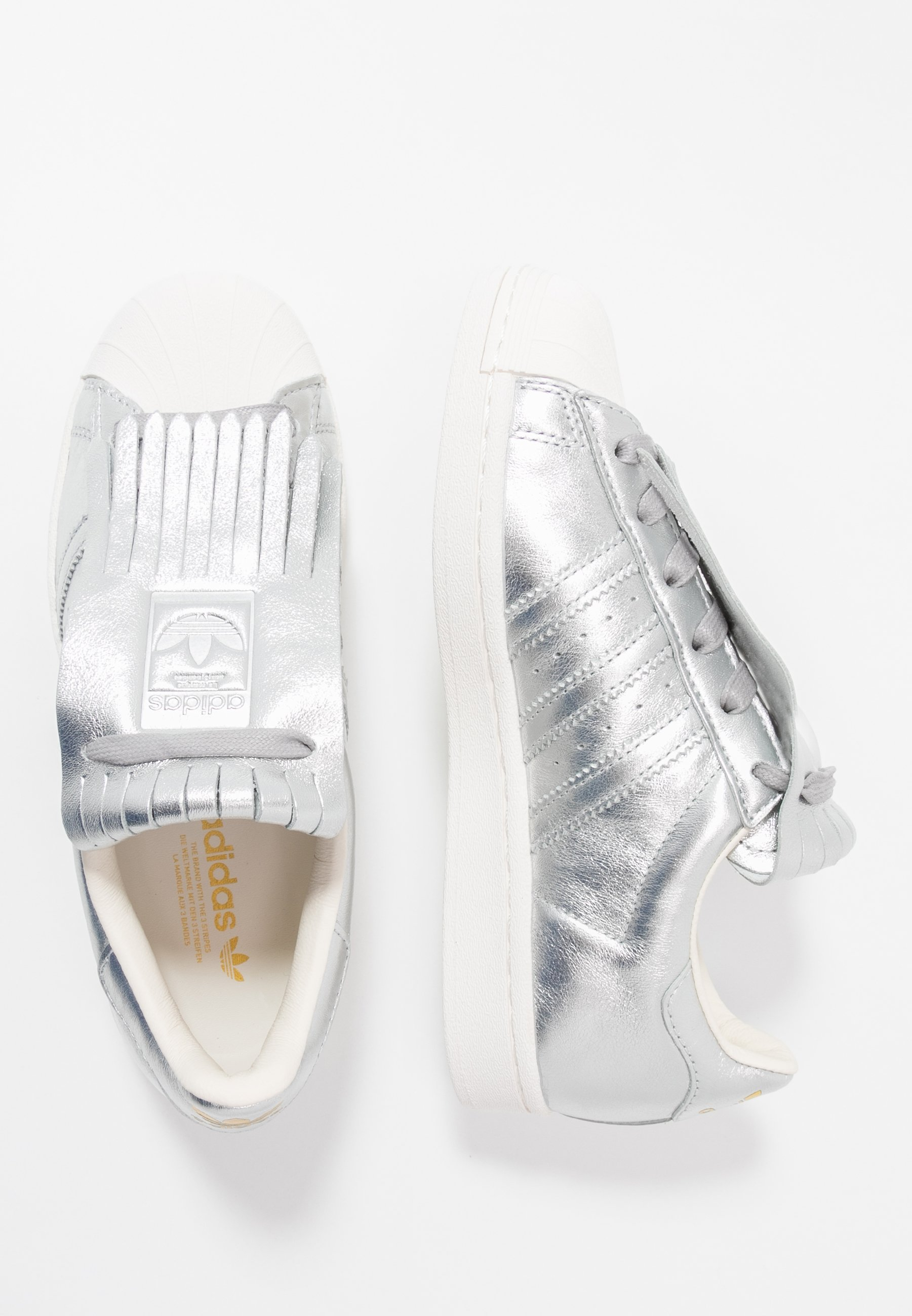 SUPERSTAR Sneakers silver metallicclear white