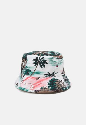 FLAG BUCKET UNISEX - Hut - white