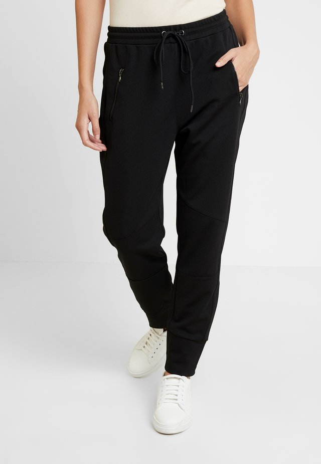 ANISTON PANTS - Trousers - black deep