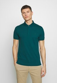 Lacoste - Polo shirt - mottled dark green - 0