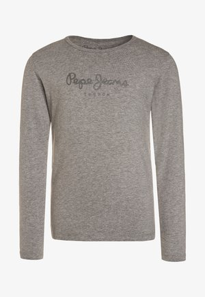 HANA GLITTER  - Long sleeved top - grey marl