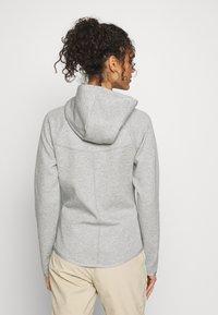 Nike Sportswear - HOODIE - Zip-up hoodie - mottled grey - 2
