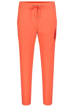 Tracksuit bottoms - mandarin red